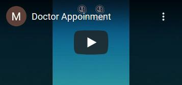 Doctors Appointment Mobile App